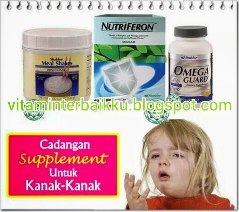 Supplement Shaklee Untuk Kanak-kanak