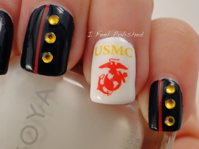 Veteran's Day Nails