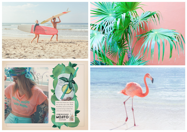 flamingo pink,rose,royal hawaiian hotel,flamand rose,inspiration,moldboard,the mood