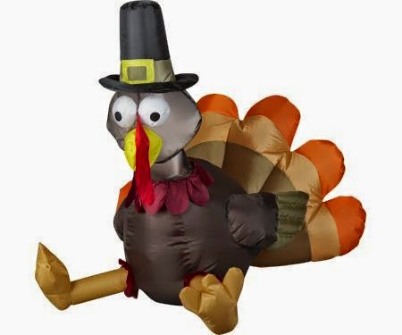 pilgrim turkey inflatable Holiday of Surprises #Giveaway Event Week 1