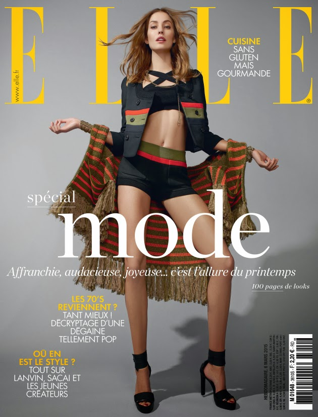 Model @ Nadja Bender - Elle France March 2015