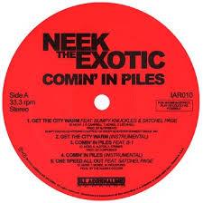 Neek The Exotic – Comin' In Piles EP (Vinyl) (2013) (320 kbps)