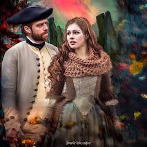 Roger McKenzie Wakefield and his wife Brianna Fraser Randall McKenzie Wakefield