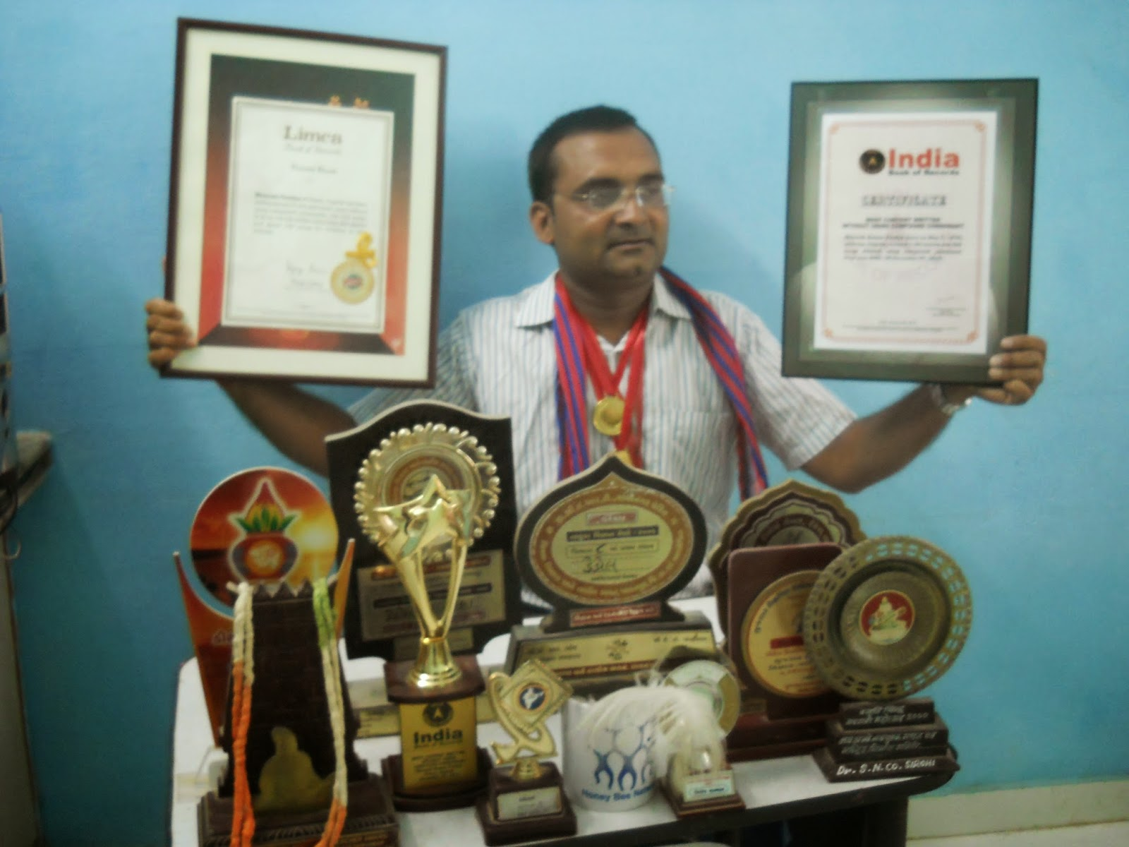 bhavesh pandya.india book of record,limca book of record,asia book of record