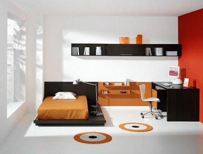 Decoraci n minimalista y contempor nea rec maras - Dormitorios juveniles minimalistas ...