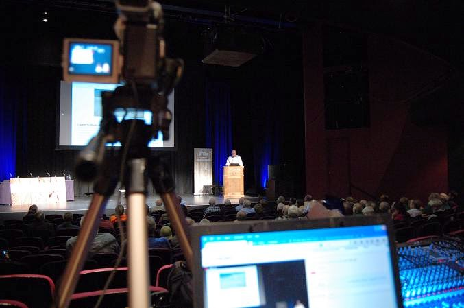 behind the camera at the IMSA Conference 2014