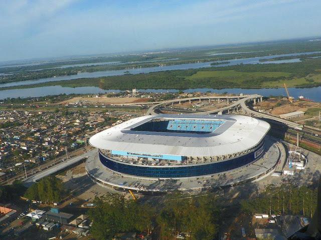 Show de inauguração da Arena Grêmio começa a partir das 20h deste sábado