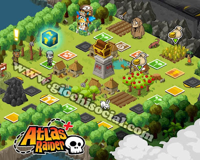 Atlas Raider giochi Facebook