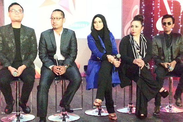 Malaysia, Berita, Gossip, Gosip, Hiburan, Selebriti, Artis Malaysia, AF 2013, Perkenal, DCT, FT, Melly Sebagai, Inspirer