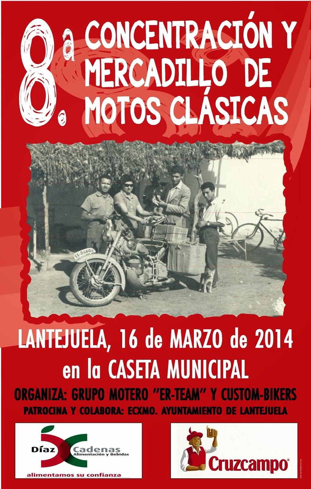 VIII Motos Clásicas Lantejuela