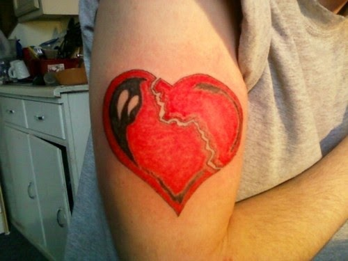 10 Heart Tattoos for Men And Women