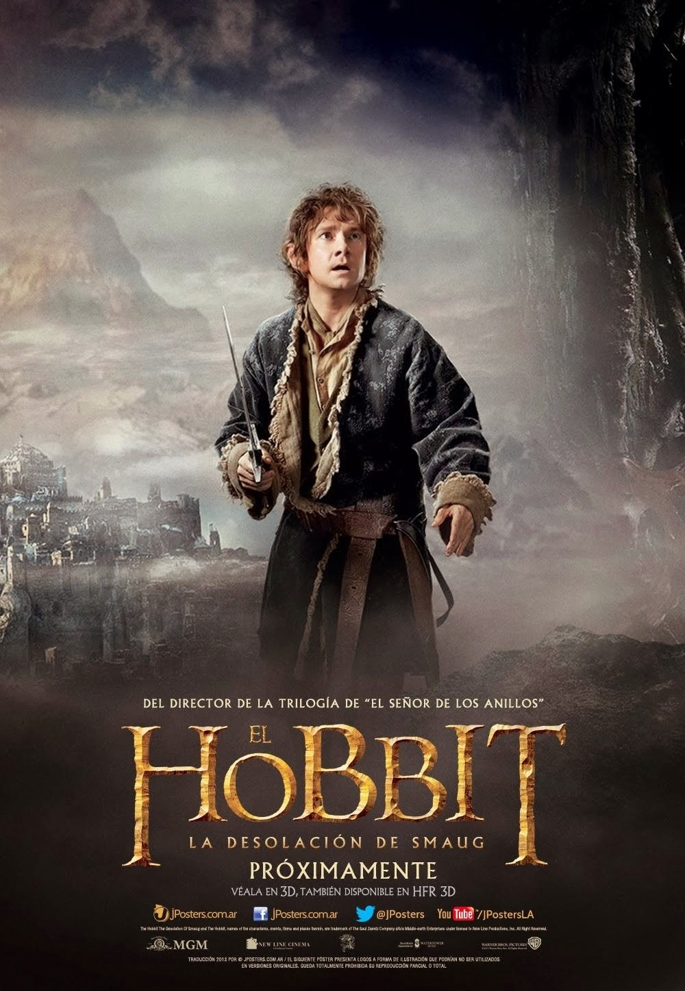 The Hobbit 2: The Desolation of Smaug BluRay 720p + Subtitle Indonesia