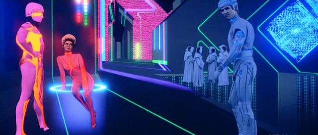 Crazy set design in TRON