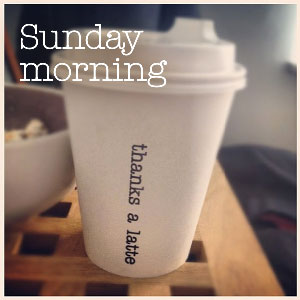 sunday morning instagram image