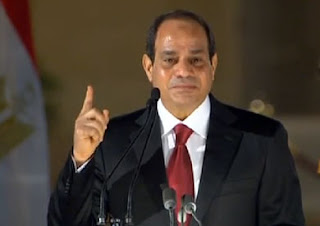 President Sisi against the attack on the teachers