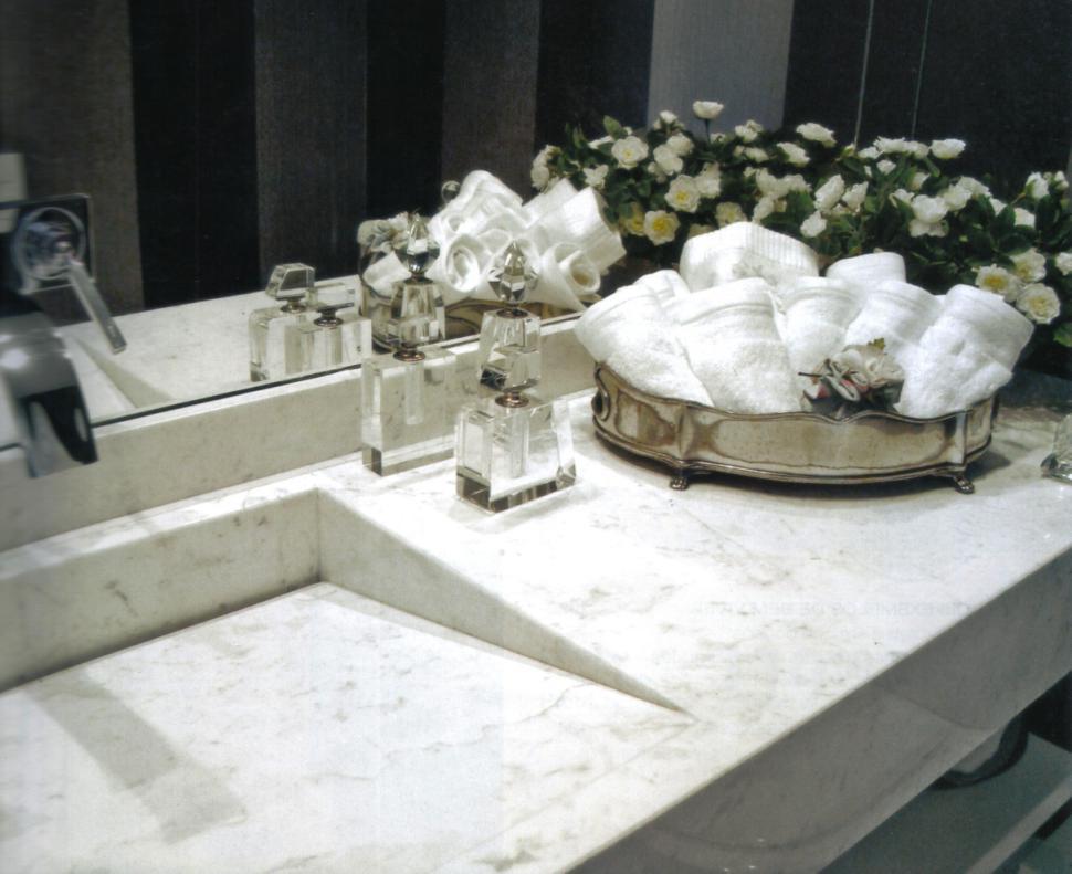 Decoração Pias e Cubas com Válvula Oculta  Cores da Casa -> Altura Ideal Pia De Banheiro