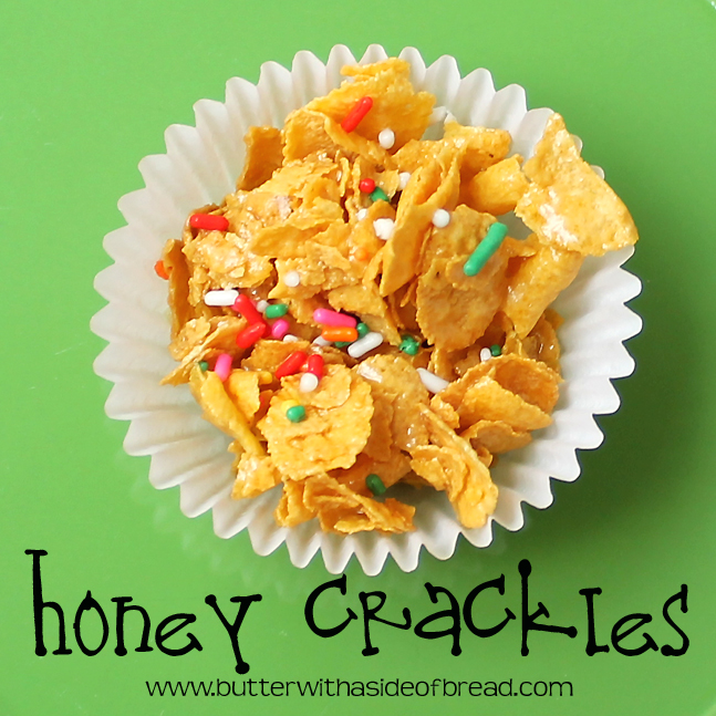 Easy Honey Crackles