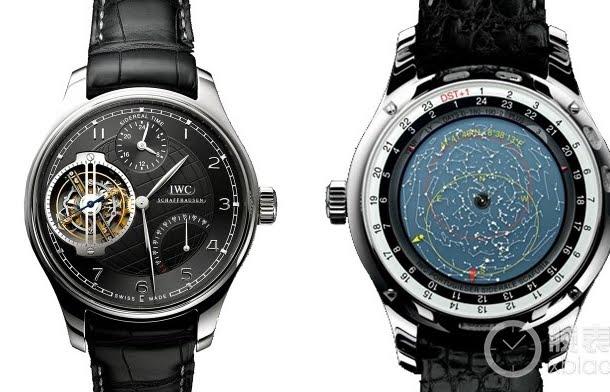 CHEAP WATCHES REPLICA FREE SHIPPING Astronomical Watch IWC - Star map watch