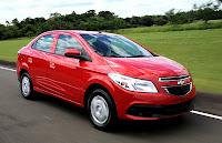 Novo Chevrolet Prisma 2013 Lt Ltz vermelho fotos