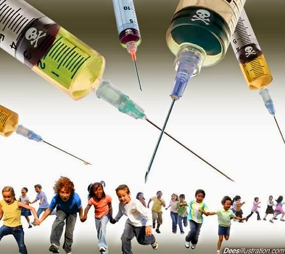 Population Reduction through Vaccine Poisons