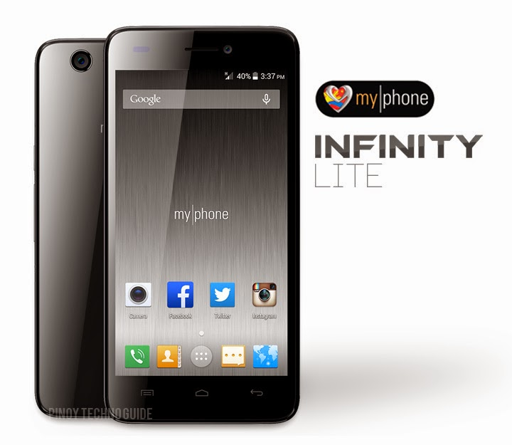 MyPhone Infinity Lite 'Octa Core Android Kitkat Smartphone for ₱7,999' Full Specs and Features