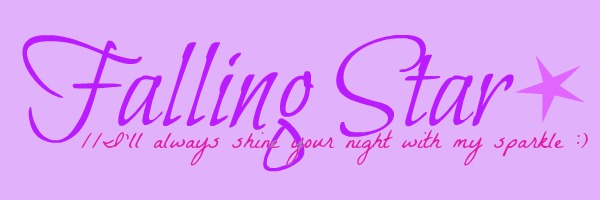 Falling Star ★