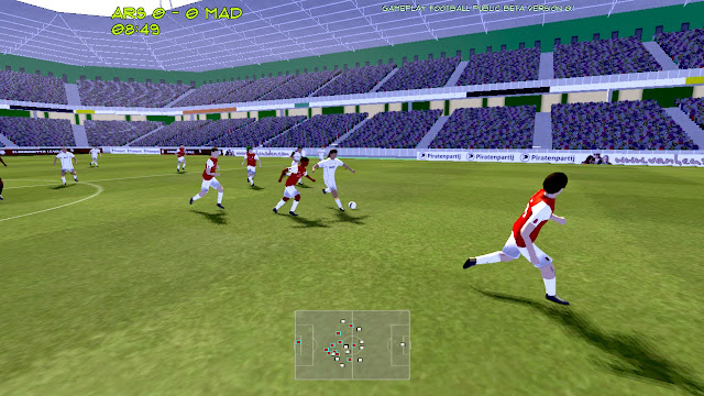 Install Gameplay Football 3D Soccer Games for Linux