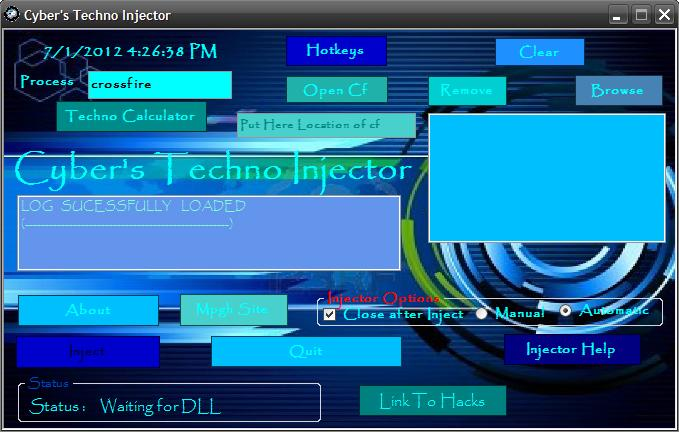 CrossFire Hile Techno injector indir &#8211; Download