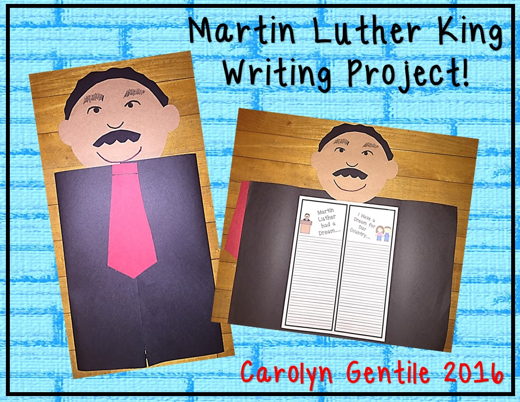 martin luther king writing paper