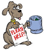DONATIONS WELCOMED