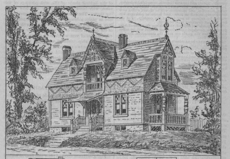 Morning Glory Gothic Cottage Circa 1880