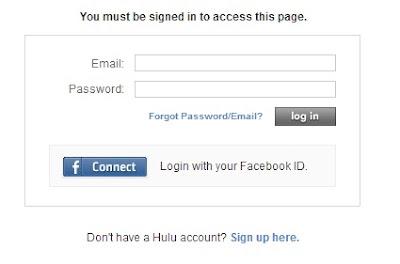 Hulu login