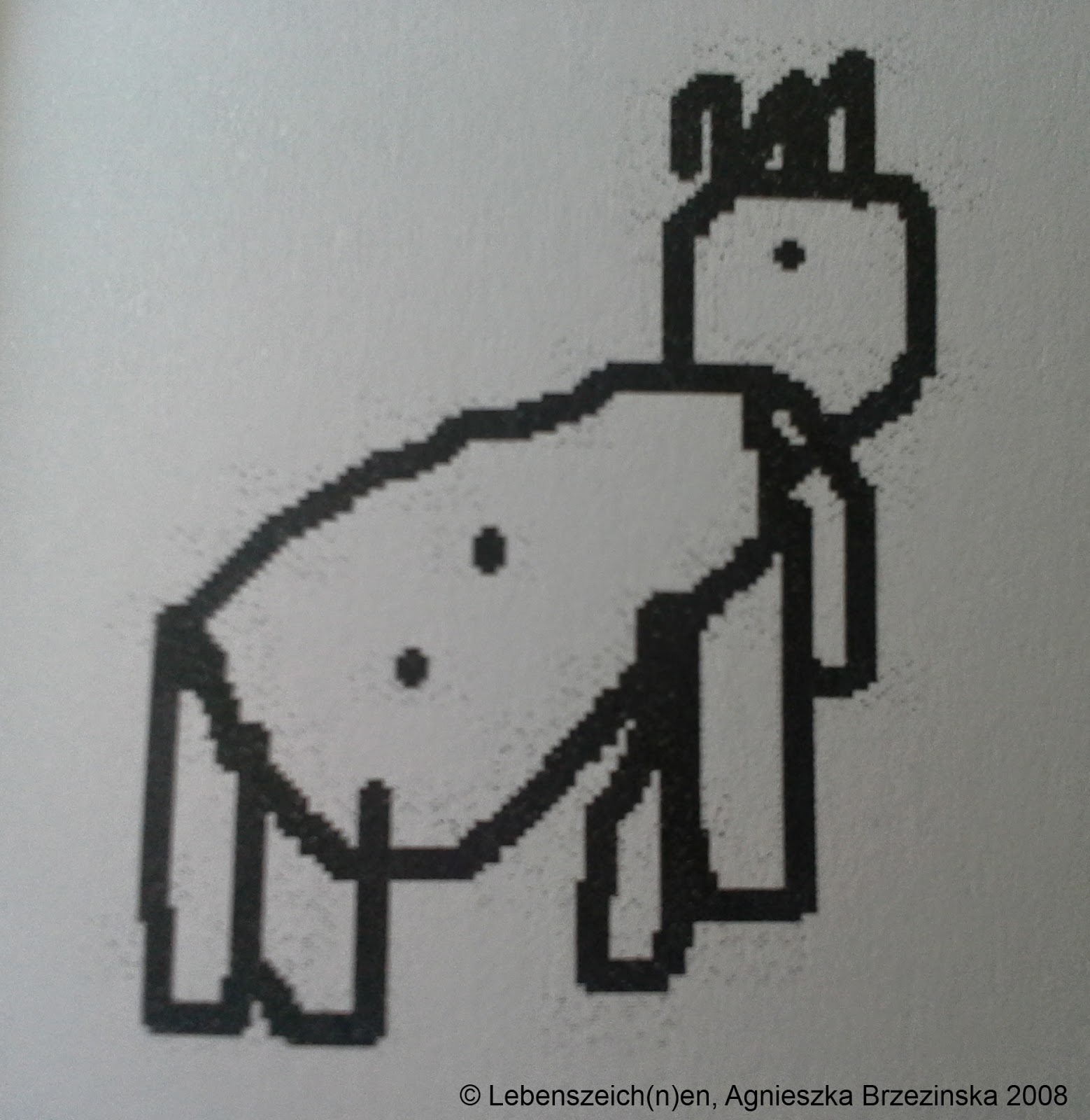 Lebenszeichnen, Kindermalbuch von Agnieszka Brzezinska, Beispiel einer Zeichnung