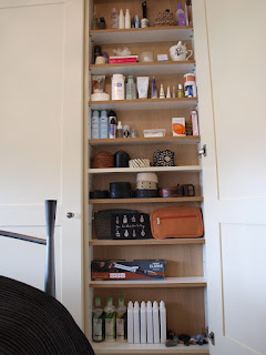 Organizing toiletries Sprout's House