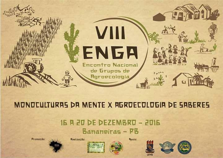 VIII ENGA - Encontro Nacional de Grupos de Agroecologia