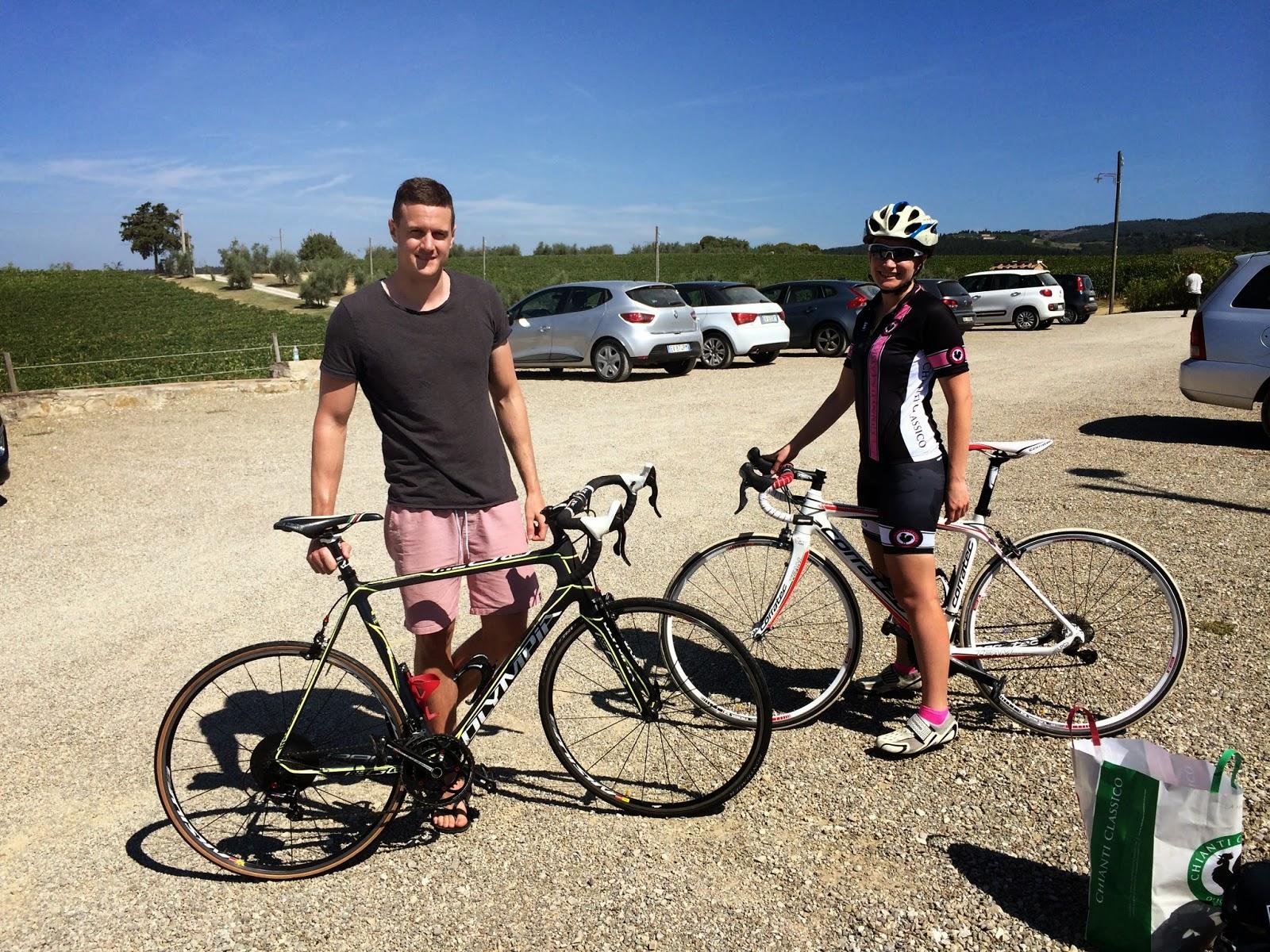 cycling chianti castellina