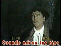 Hugo del Carril Cuando miran tus ojos, Canciones de la película Amalio Reyes, un hombre