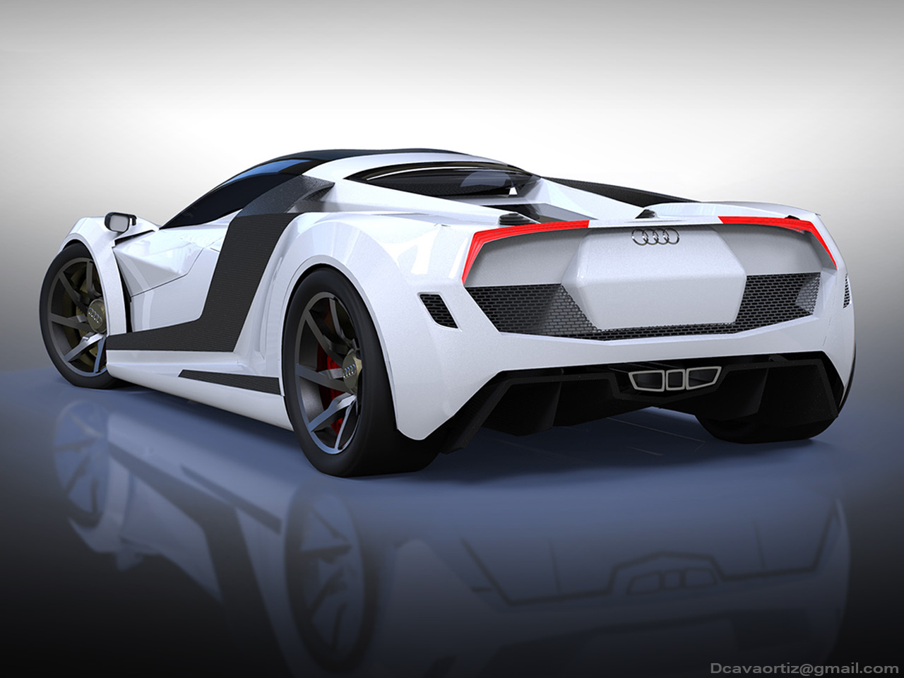Audi R10 Hypercar Concept