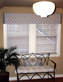 DIY Window Treatment- Pelmet Box