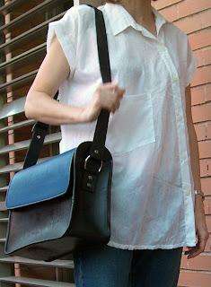 bolsos originales Boo Noir cuero ecológico