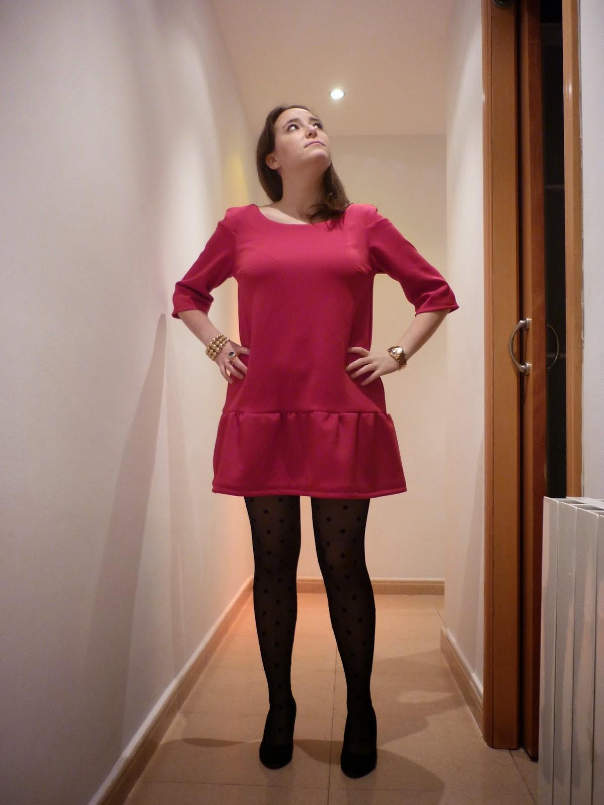 malvarosa dress pauline alice vestido rojo modistilla de pacotilla