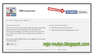 Cara Mengonvert File PDF ke Word Versi Facebook