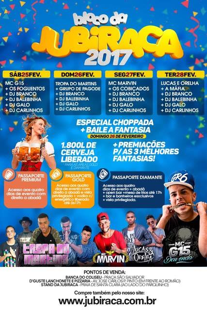 Bloco da Jubiraca 2017