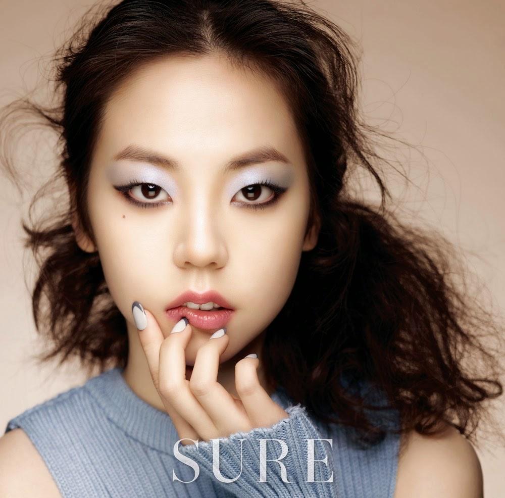 Sohee - Sure Magazine December Issue 2014