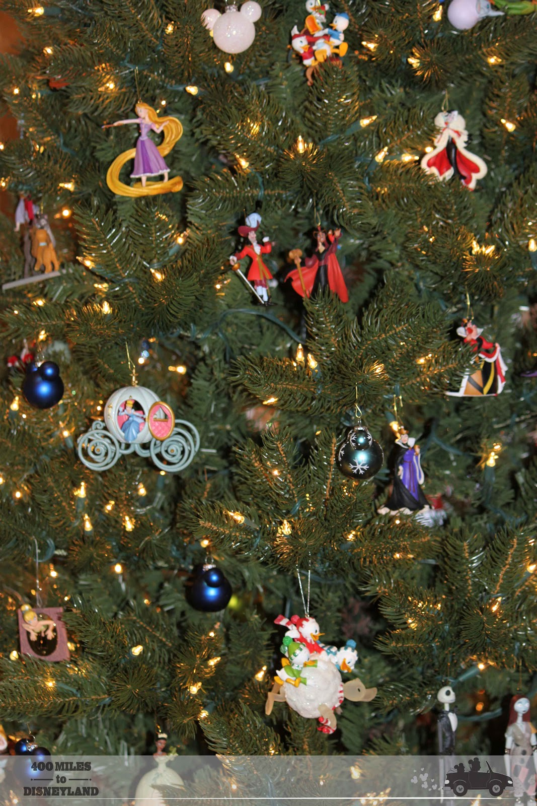 Excellent 400 Miles To Disneyland Disney Holiday Decorations At Home Easy Diy Christmas Decorations Tissureus