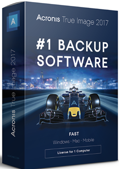 Acronis True Image 2017 Build 5554 + Crack