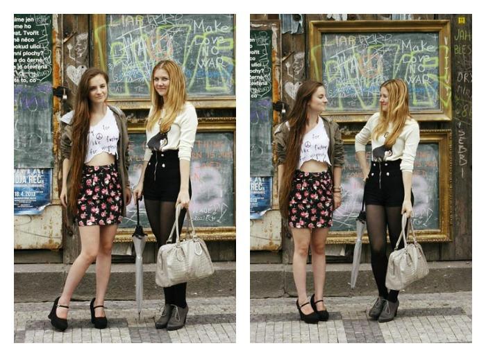 audrey and pearl, blogerky, přátelství, umění