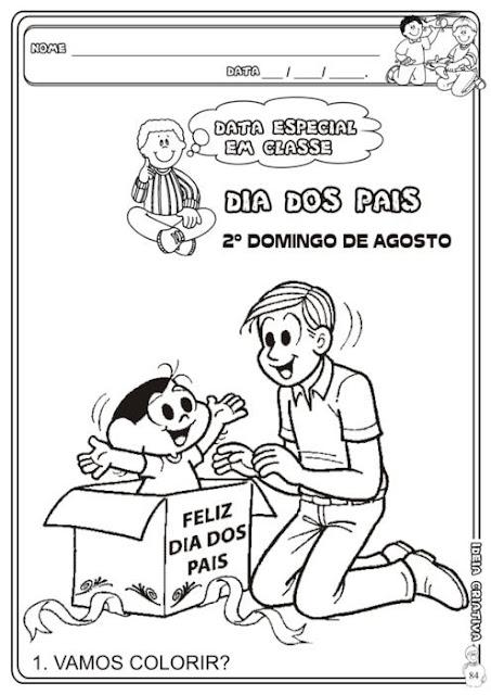 Atividades Dias dos Pais Caderno Sociedade