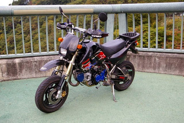 Modifikasi Kawasaki KSR 110 Touring