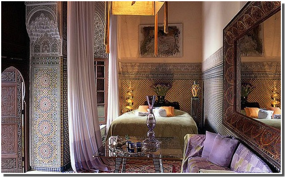nassima home jolie chambre de riad marocain. Black Bedroom Furniture Sets. Home Design Ideas